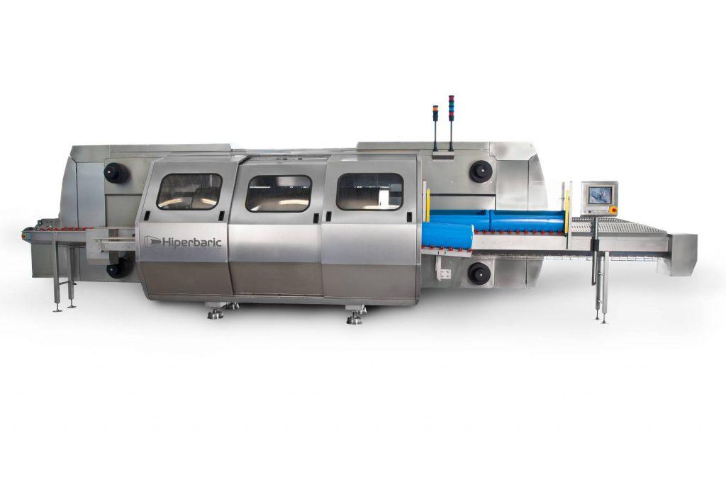 HPP Maschine seitliche Ansicht